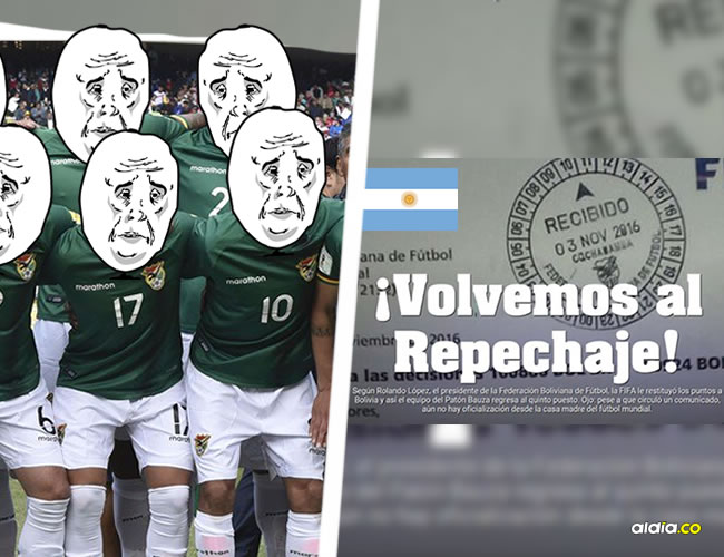 Un error en la interpretación de una carta dirigida a la Federación Boliviana de Fútbol desató un ridículo en cadena en el que también cayó Argentina | Twitter