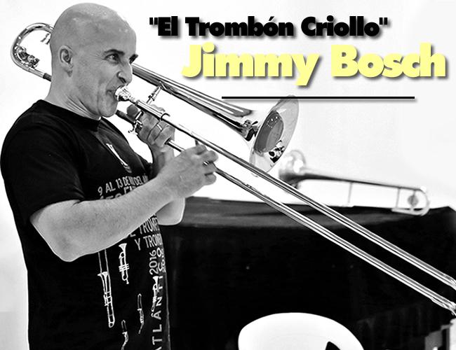Jimmy Bosch, tiene 56 años, nació en New Jersey (EE. UU). Es trombonista, compositor, cantante y productor musical. | Foto: AL DIA