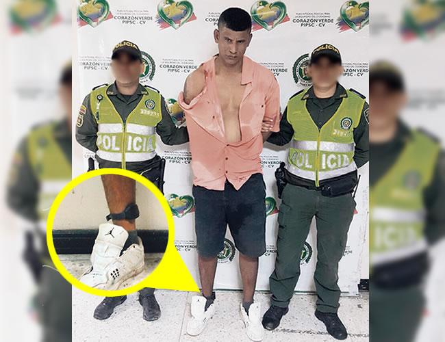 A Enrique Jesús Castillo Contreras lo capturaron campante con el brazalete puesto. | Foto: Archivo