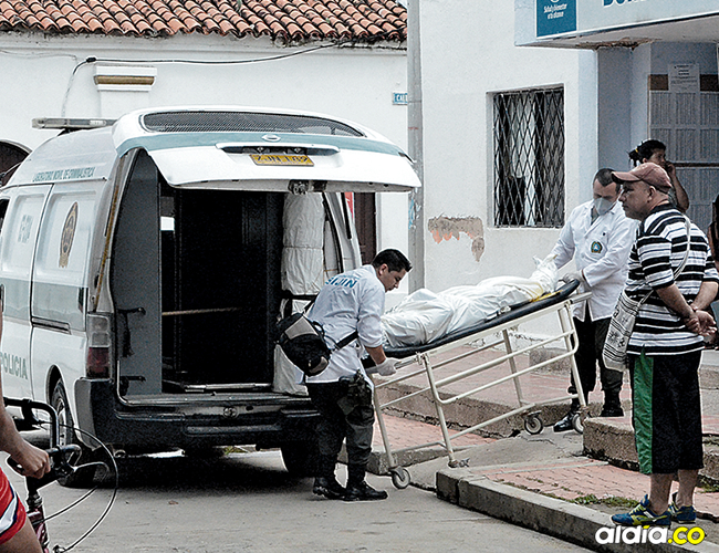 La inspección al cadáver estuvo a cargo de la Sijín de la Policía Metropolitana de la ciudad.   AL DÍA