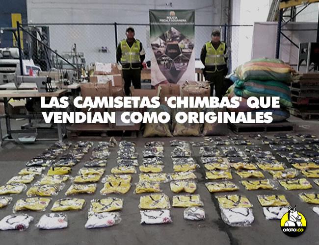 La Policía fiscal y Aduanera decomisó más de 3.800 camisetas falsificadas de las marcas Adidas y Umbro, que iban a ser comercializadas en la calle y locales comerciales | Policía