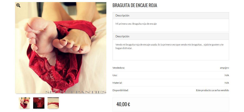 b4ad72fd67 Esta es la forma como las mujeres venden su ropa interior usada en Secret  panties