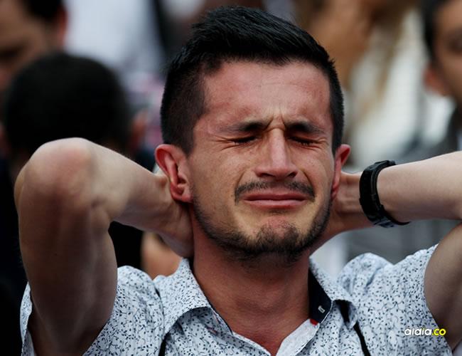 Fotos en las que se pueden apreciar la tristeza y el dolor de los colombianos que le apostaron al acuerdo que se había firmado con las Farc | EFE