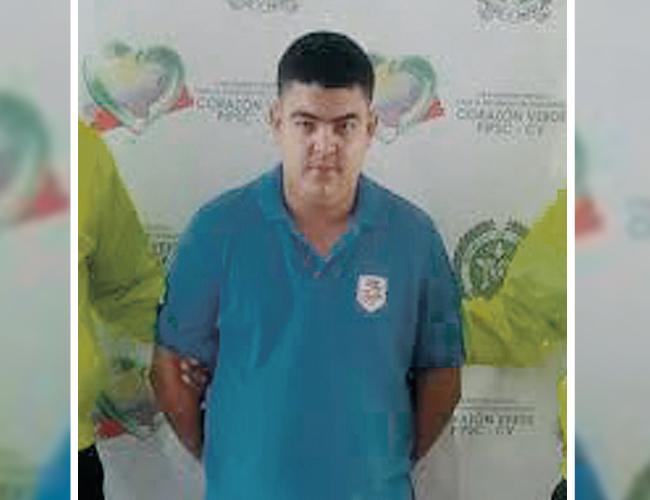 Fabián Arturo Llamas Pacheco, de 30 años, conocido con el alias de 'Artur', fue cobijado con la medida de detención domiciliaria por un Juez de Palmar   Foto: Policía