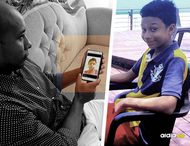 Esta imagen de Roberto de Jesús Castillejo Rojano, de 14 años, es publicada con autorización grabada por su familia   Al Día