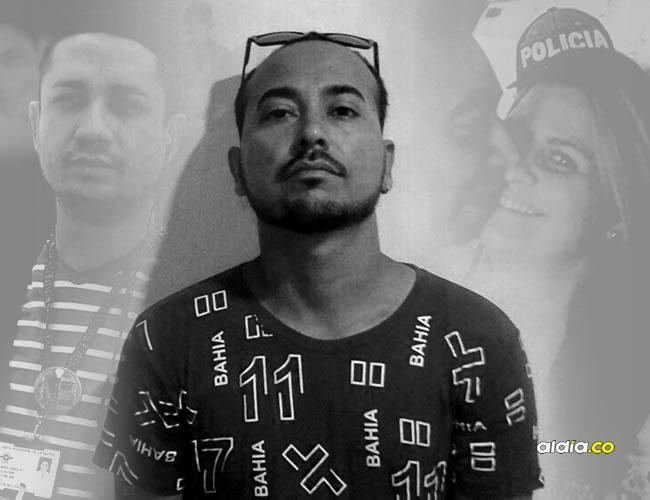 Alberto Cabrera Barrios, alias Ñeco, luego de su captura este miércoles. Es el hombre señalado de ejecutar el plan de Dayana Jassir y Johan Beltrán   Al Día