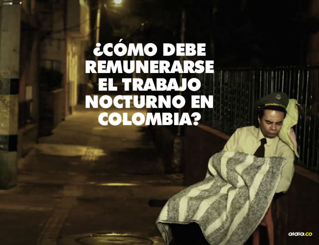 Las horas de trabajo nocturno en Colombia comienzan a contar desde las 10 de la noche y hasta las 6 de la mañana | Los Del Morro/Youtube