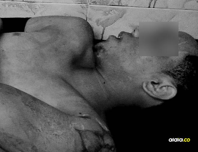 Aldaimer Pestaña Rodríguez, de 22 años, fue abatido por la Policía Metropolitana de Cartagena, presuntamente, luego de participar en el robo de un celular, en La Providencia. | AL DÍA