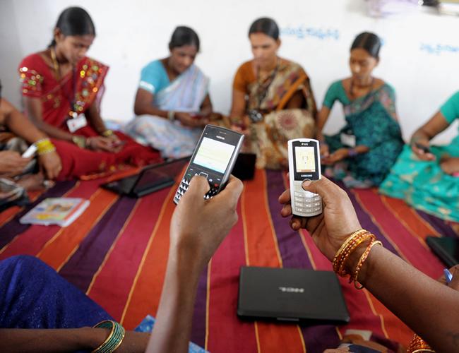 La India es uno de los países con mayor crecimiento en el mundo de venta y compra de celulares Foto: Independent