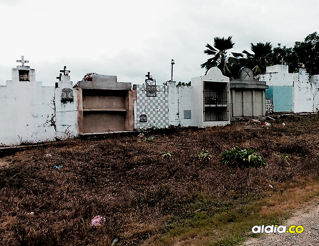 A los habitantes del corregimiento de Chochó, en Sincelejo, les preocupa que el cementerio ya está copado. | AL DÍA