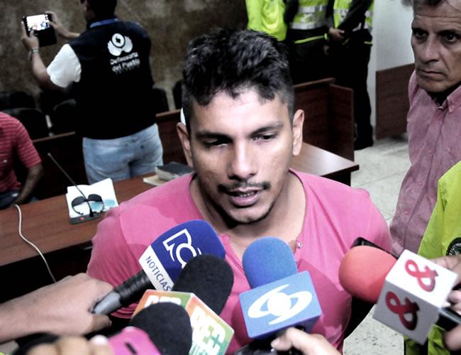 Jesús Gutiérrez, alias 'Chucho', el día de la audiencia de imputación de cargos. | Foto: Al Día