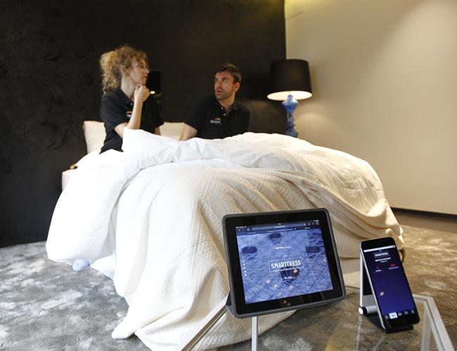 Smarttress es el colchón inteligente que es capaz de detectar la infidelidad.   Foto: Smarttress.com