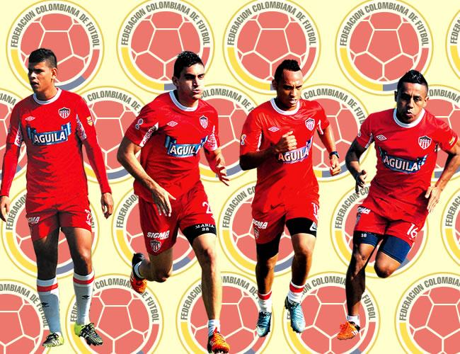 Arias, Celis, Jarlan y Vladimir recibieron el llamado de Pékerman | Foto : ALDÍA.CO