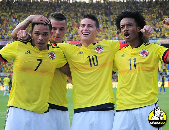 Colombia enfrenta a la selección venezolana esta tarde en Barranquilla por las eliminatorias de Rusia 2018. | AL DÍA