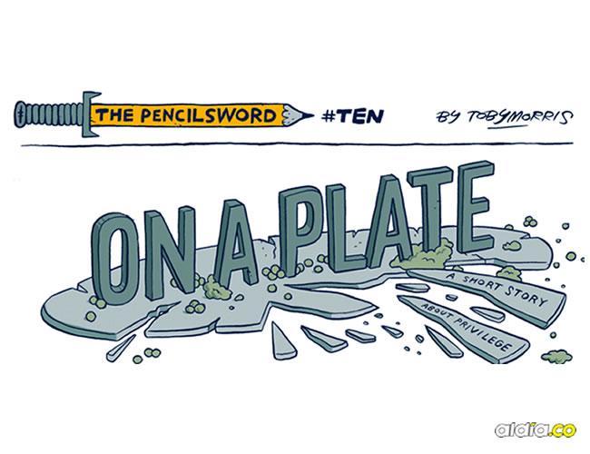 Este cómic explica de una forma sencilla lo injusto que puede llegar a ser el mundo |  Toby Morris