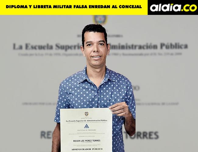 Recer Lee Pérez Torres, concejal de Barranquilla | Foto: Al Día