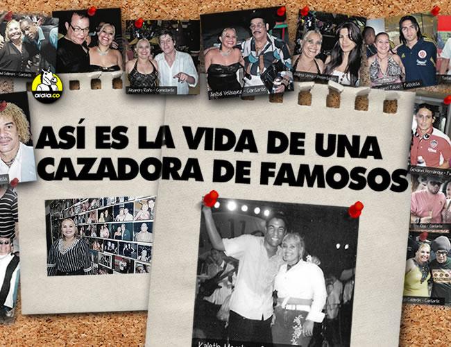 Constanza tiene un 'hall' de la fama en la sala de su casa en el barrio Granadillo. | Luis Felipe De la Hoz/AL DÍA