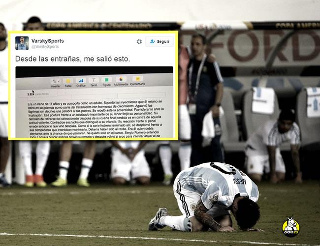 El astro argentino le confirmó a los medios de comunicación que se retirará de la selección Argentina. | Foto: EFE