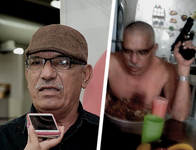 Luis Alfredo Hernández Gores, asesinado a las 3 p.m. de ayer en el barrio Me Quejo. | Foto: Archivo