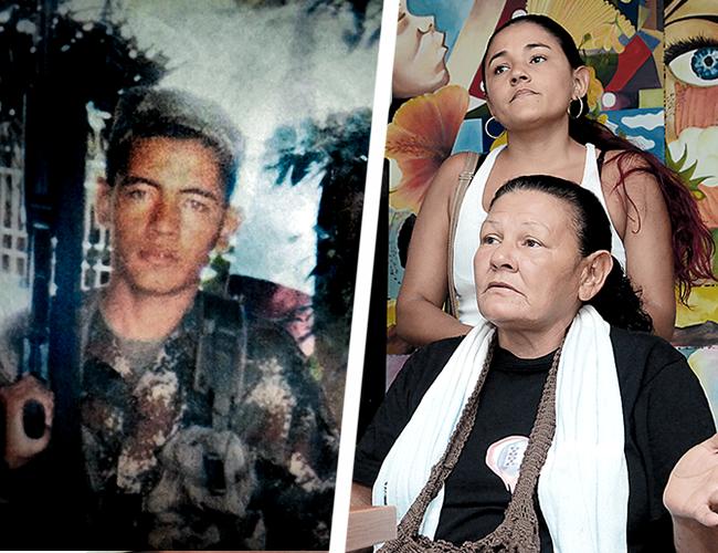 Fray David López Flórez, de 24 años y sus familiares. | AL DÍA