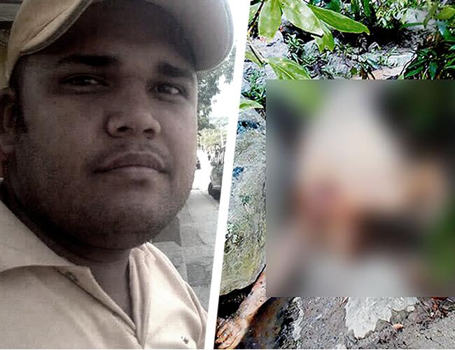 El cadáver en descomposición encontrado en jurisdicción de Palmor (Ciénaga), fue identificado por sus familiares como Holman Durán Benavides.   AL DÍA