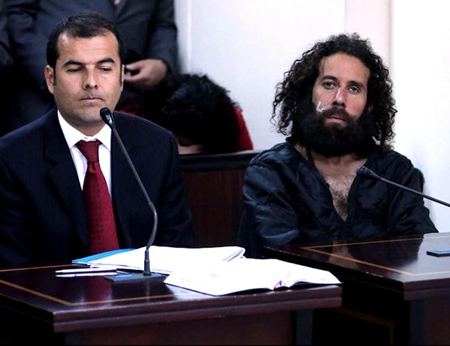 David Manotas Char (derecha) está preso en la cárcel La Picota, de Bogota. Allí cumplirá la condena. | Foto:Archivo