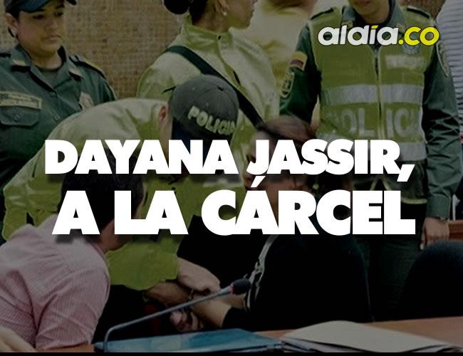 Dayana Jassir durante la audiencia de imputación de cargos | Foto: El Heraldo