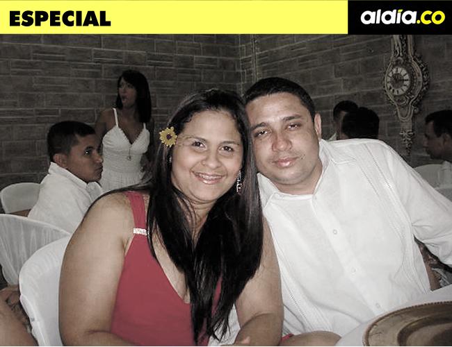 En octubre del presente año Dayana Jassir y Eduardo Pinto cumplían 8 años de casados. | Foto: Archivo