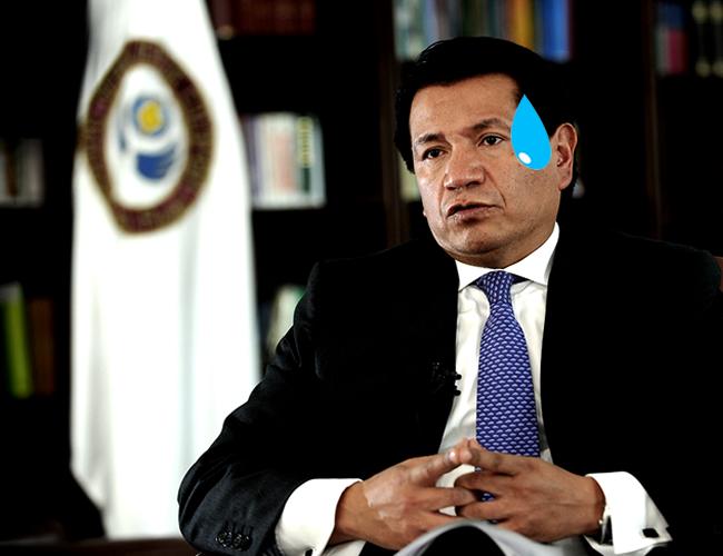 Jorge Armando Otálora había sido denunciado ya por acoso laboral   Foto: Defensoría del Pueblo