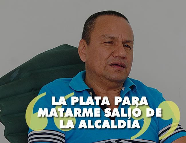 Villanueva asegura que teme por su vida. Cuenta con un esquema de seguridad compuesto por tres hombres y un vehículo blindado | Foto: Johnny Olivares