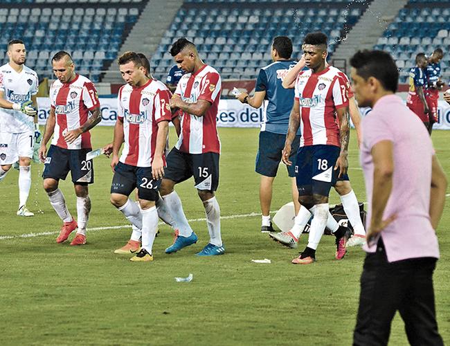 Giovanni debutó este miércoles con derrota ante Pasto. | Foto: AL DÍA