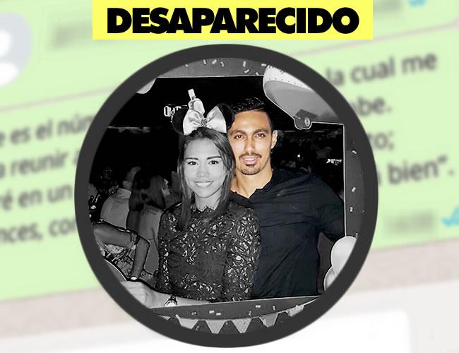 Diego Andrés Sarmiento Iregui junto a su novia Daniela Redondo | Archivo