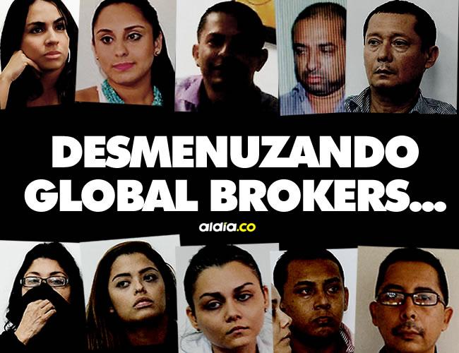 Todo empezó en el 2013, tras el cierre definitivo y unilateral de las cuentas de Global Brokers por parte de dos entidades bancarias porque estaban manejando sumas exorbitantes de dinero en efectivo. | ALDIA.CO
