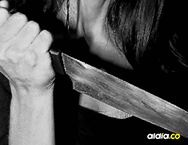 El arma blanca con la que le propinaron la herida mortal al joven de 22 años, está a disposición de la autoridad competente | Archivo