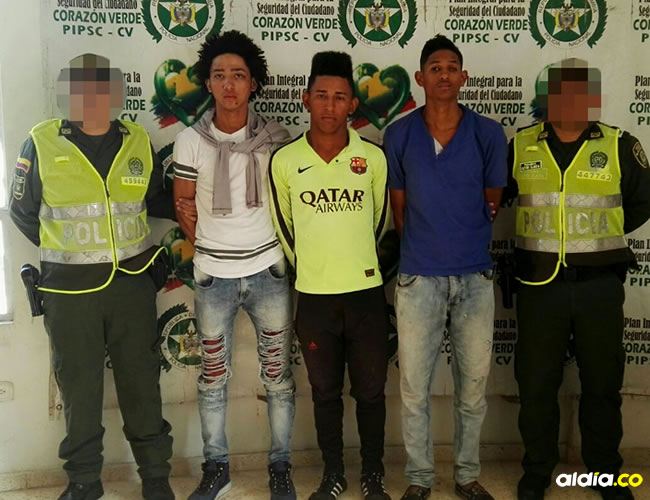 Capturados por la misma comunidad en el municipio de El Molino y entregados a la Policía. | AL DÍA