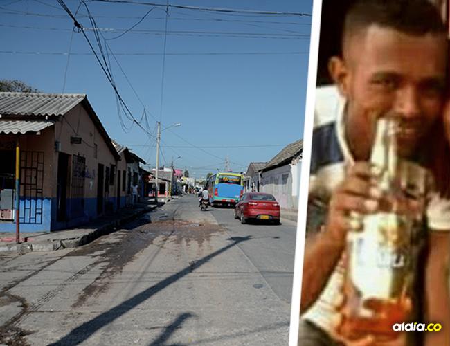 Luis José Aguas Mendoza, padre de un niño de 9 años, estaba en su jornada de descanso el día que lo mataron | ALDÍA.CO