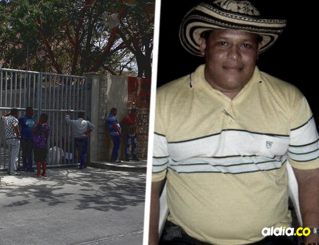 El abogado samario Alejandro Campo Fontalvo, de 35 años, recibió una puñalada a la altura del corazón, después de forcejear con 'Chocho' | AL DÍA