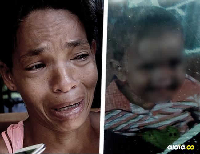 Paola Anaya Herrera, de 33 años, sumida en el dolor antes de que su hijo de 9 meses apareciera   Al Día
