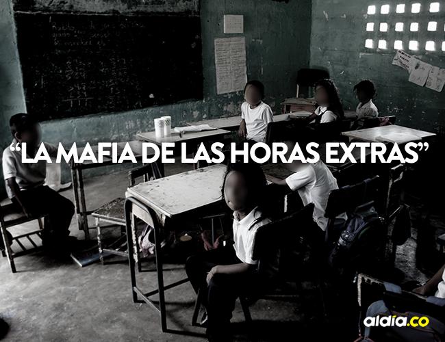 El secretario de Educación, Olver Choles Magdaniel, confirmó que hay denuncias por el pago de horas extras no trabajadas | ALDÍA.CO