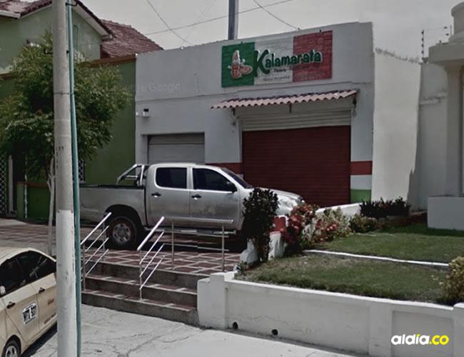 Pizzería donde ocurrió el atraco | Archivo Particular