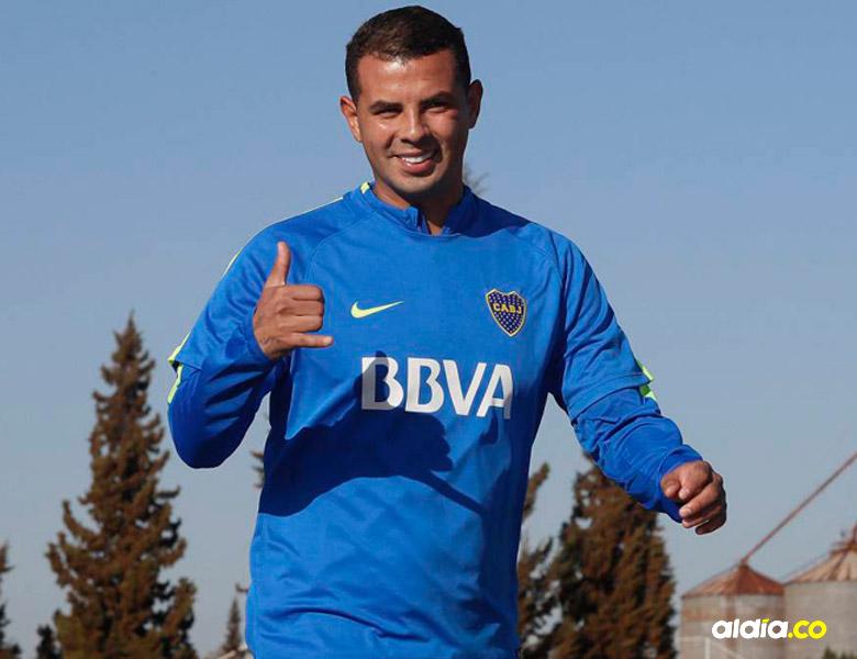 Edwin Cardona, jugador del Boca Juniors | Archivo EL HERALDO