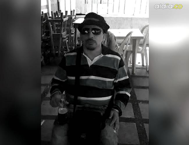 Luis Germán Figueroa Sanabria, de 38 años, falleció en el Hospital General de Barranquilla, luego de que el proyectil lesionara su masa encefálica   Cortesía