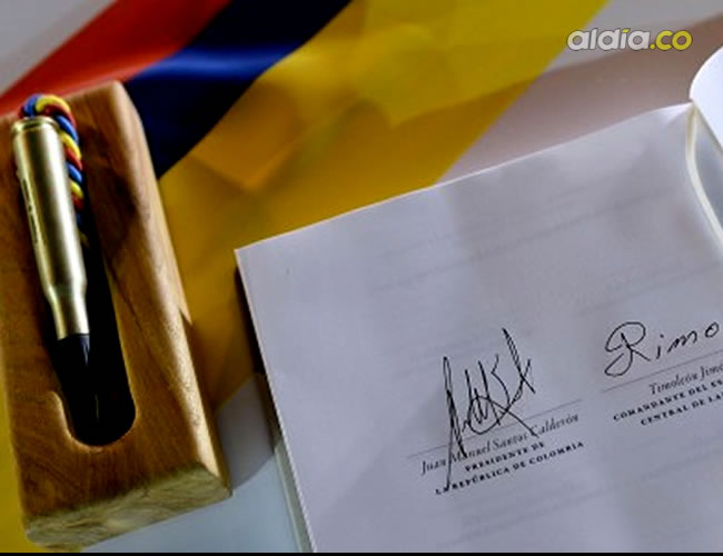 Esta es la firma del acuerdo de paz entre las Farc y el Gobierno de Colombia | Presidencia