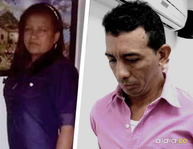 Neila Rosa Mercado Torres, de 41 años. Era enfermera  Luis Alfonso Bolaño Sánchez, de 41 años, luego del crimen se escondió en Pivijay | Néstor de Ávila