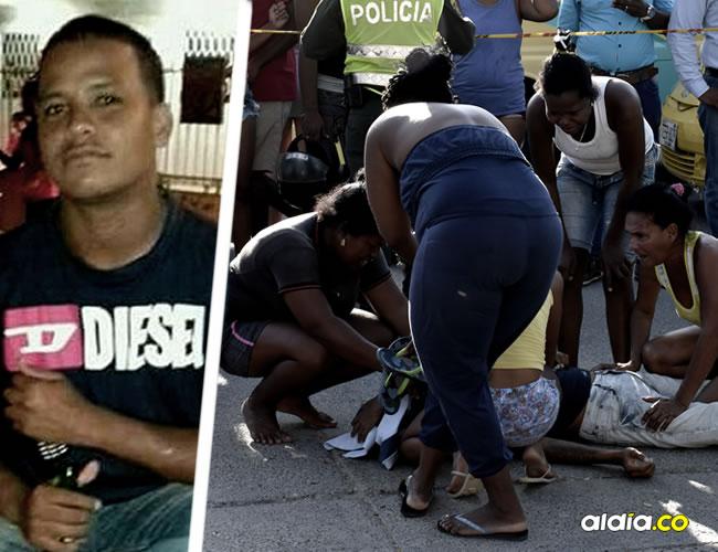 Luis Eduardo Monsalve Hernández, dado de baja por un policía en un supuesto atraco
