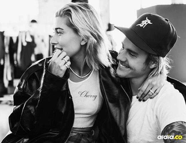Hailey Baldwin y Justin Bieber. | Tomada de: Instagram Justin Bieber.