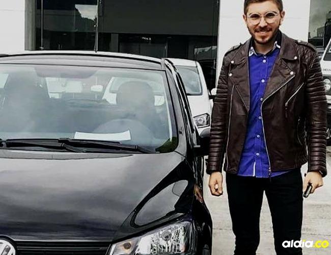 Juan Sebastián Salcedo, Conductor de Uber asesinado I Cortesía