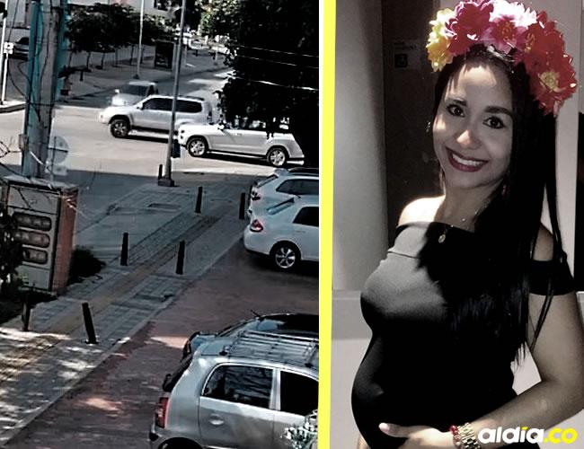 Lanny Karol Quintero Jaraba, 7 meses de embarazo