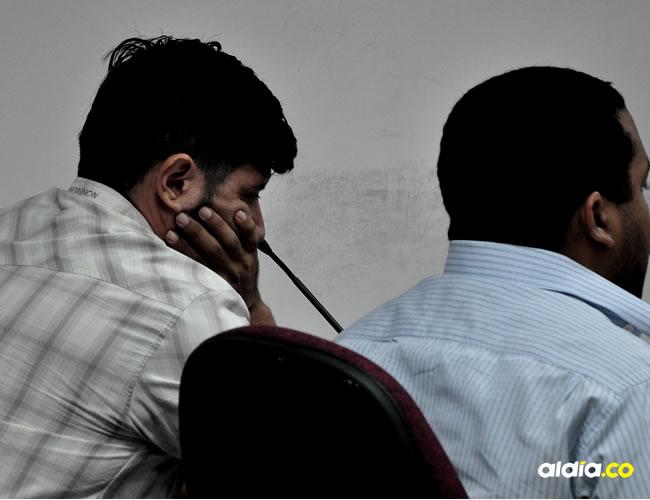 El docente acusado durante una audiencia ante el juez | Al Día