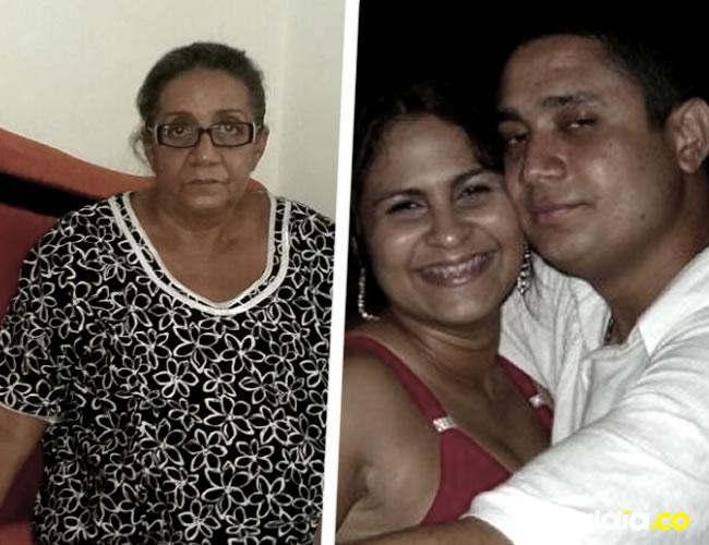 Rebeca Viloria, madre de Eduardo Pinto